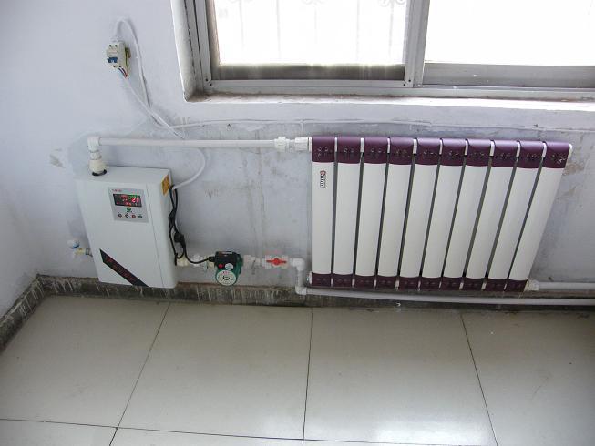 哈尔滨近4000户居民使用电采暖,便捷又环保