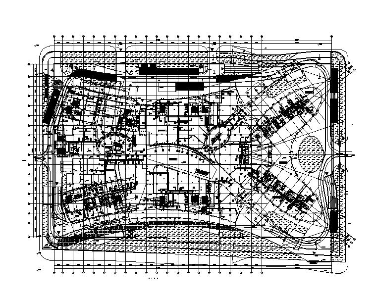浙江嘉兴中心商业区暖通施工图