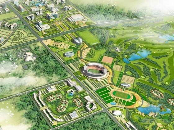 [新疆]克拉瑪依新區城市規劃及單體建筑設計方案(知名設計院)