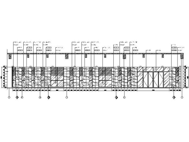[杭州]国内知名集团商务大楼室内设计施工图-[杭州]国内知名集团商务大楼室内设计立面图