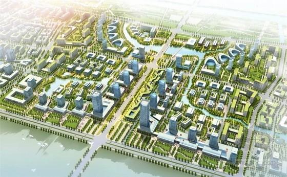 [北京]知名企业产业园规划及单体设计方案(知名设计院)