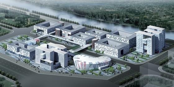 [河南]现代风格办公区规划及单体设计方案文本
