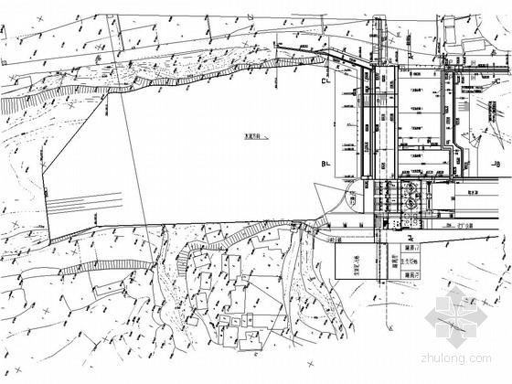 [四川]低水头河床式小型电站工程施工图(闸坝 观测设施)