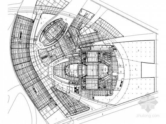 [广东]6万平米大型歌剧院工程给排水全套图纸(水幕系统 雨淋系统)
