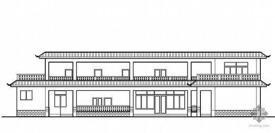 [成都]某活动中心建筑结构施工图(有效果图)