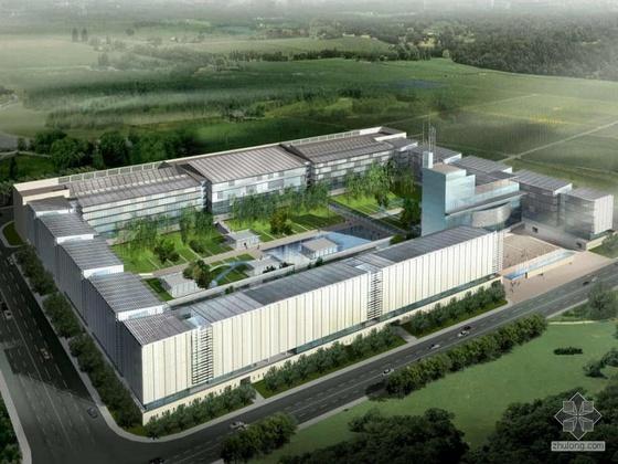 [浦东]某农业银行数据中心建筑设计文本