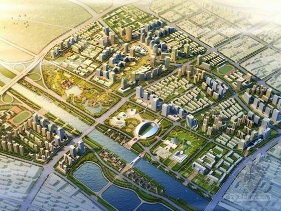 [天津]城市规划及单体设计方案文本