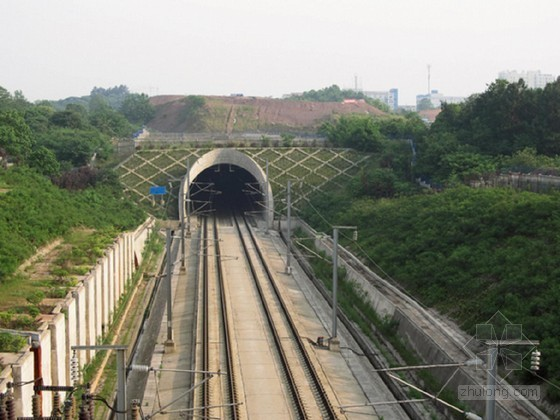 V级围岩隧道爆破设计资料下载-[浙江]双线铁路隧道施工组织设计151页(仰拱超前 拱墙整体衬砌)