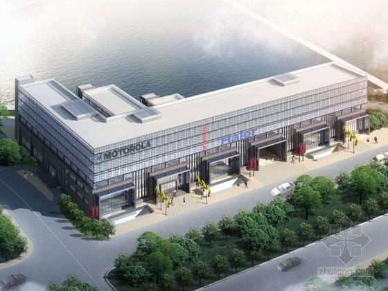 [南京]某六层企业办公楼建筑设计方案文本