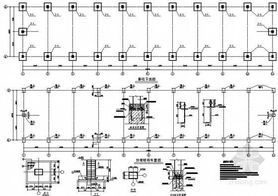玉溪单层修理车间结构设计图