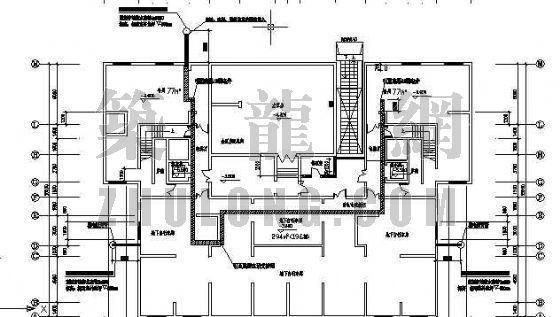 上海天合雅园弱电系统施工图