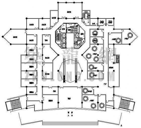 某酒店平面设计方案