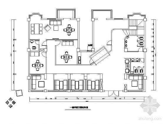 二层茶楼平面设计图