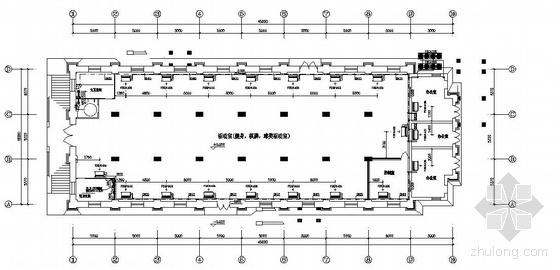 VRV多联机安装资料下载-天津某大学综合楼空调平面图