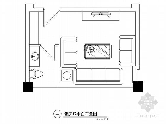 欧式娱乐会所资料下载-某欧式娱乐会所包房17装修图