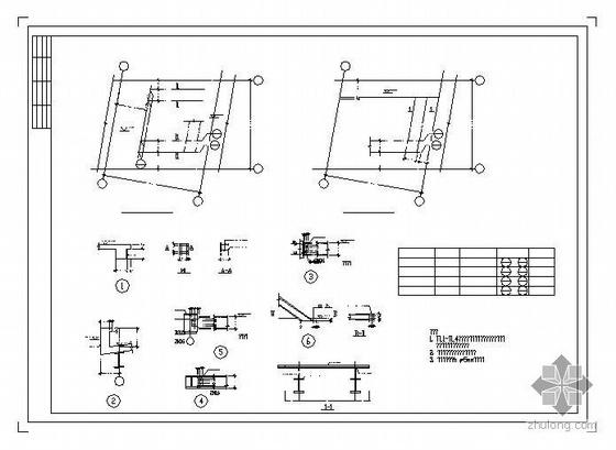 某钢结构别墅图纸