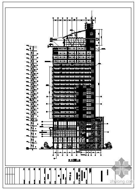 重庆某高校教师继续教育培训大楼幕墙全套方案图