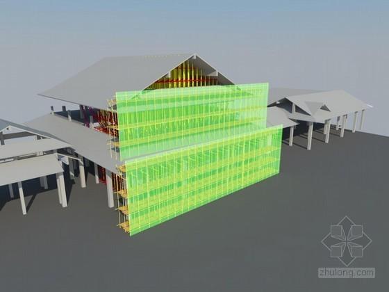 [江苏]旅游休闲中心高支模施工方案(13.4米 附图)