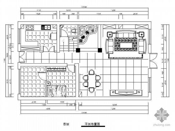 [北京]欧式三层别墅装修图(含效果图)