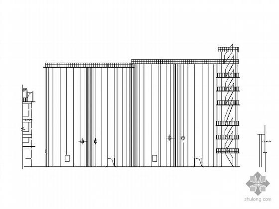 u型生产线布局图资料下载-[江西]某年产60万吨水泥粉磨生产线厂房建筑施工图