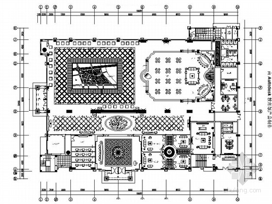 [常州]国际名城核心区欧式风情售楼处设计装修图(含效果)