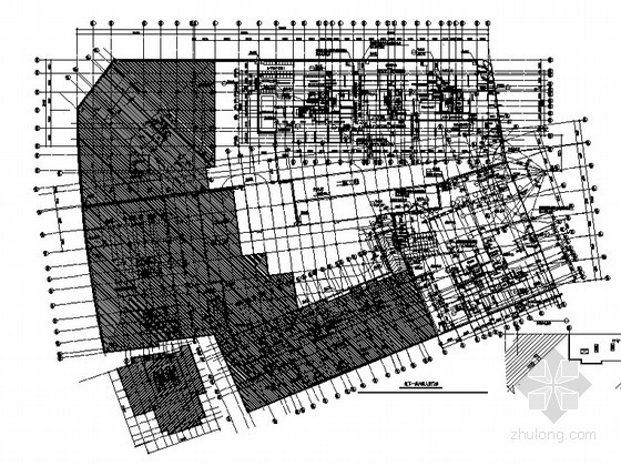 [宜昌市]某现代高层住宅楼二期4号、5号楼地下室人防建筑施工图