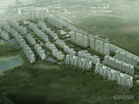 某生态小区规划设计资料下载-[合肥]某住宅小区规划及单体设计方案文本(含模型)