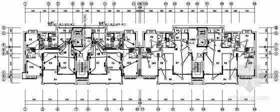 [长沙]某小区十八层住宅全套电气施工图纸