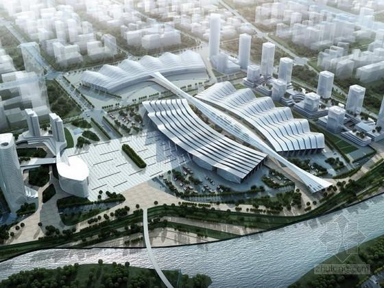 [湖南]大型国际会展中心规划及单体设计方案文本(知名大学)