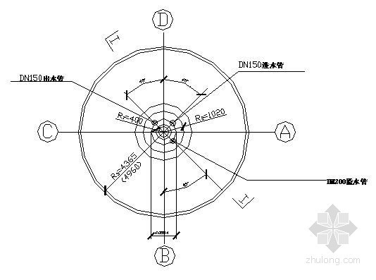 水塔管道安装详图