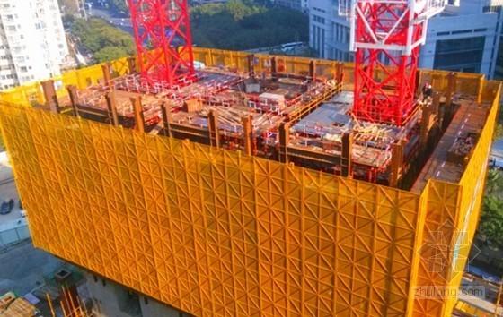[北京]钢管砼框架核心筒结构超高层液压爬模工程专项施工方案(90页 多图)