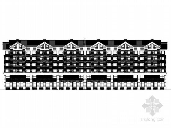 [吉林]6层中式风格高档公寓设计施工图