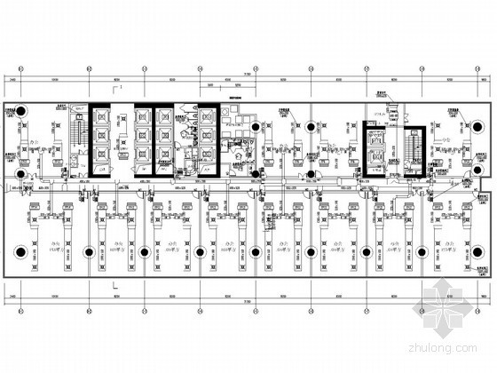 [广东]超高层办公楼空调通风及防排烟系统设计施工图