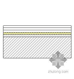 钢挂瓦条金属板屋面(木望板-有保温隔热)