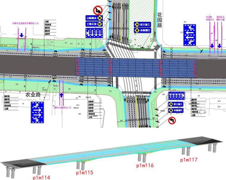 [河南]快速通道工程钢箱梁施工保通方案