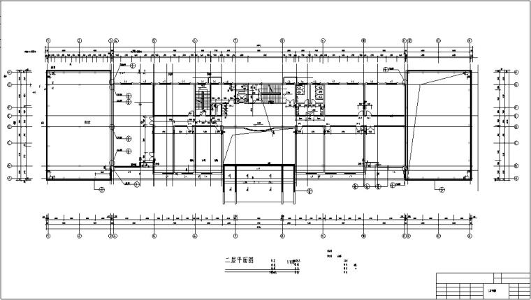 5套商务办公楼建筑设计施工图CAD-新中式多层办公楼建筑设计平面图