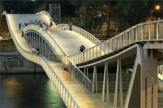 带你看看世界各地奇形怪状的景观桥,不要谢我!_1
