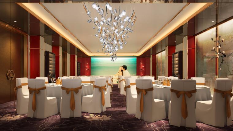 VR在施工中的应用资料下载-CCD新作—广州中国大酒店宴会厅改造设计方案PDF+JPG21P