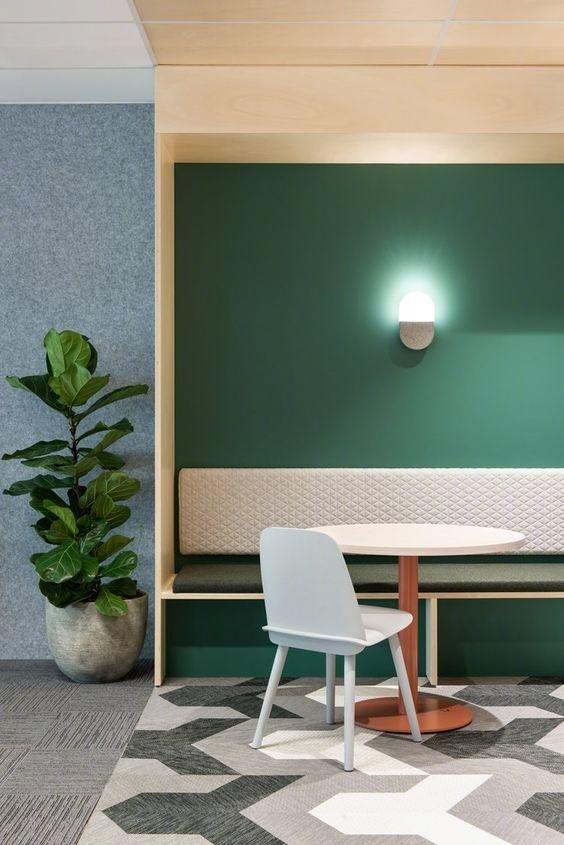 绿色的墙面,你能够驾驭吗?_5