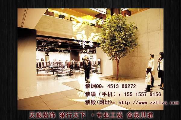 服装店装修设计对于不同的产品定位设计特色