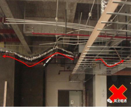 风管安装常见11项质量问题实例,室内机安装质量解析!_28
