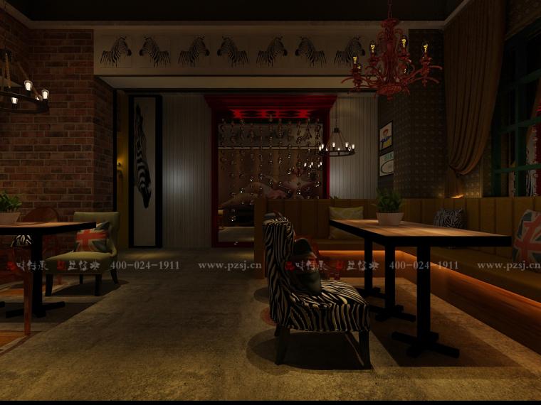 沈阳市中山路热情的斑马艺术休闲吧设计项目效果图震撼来袭-5.jpg