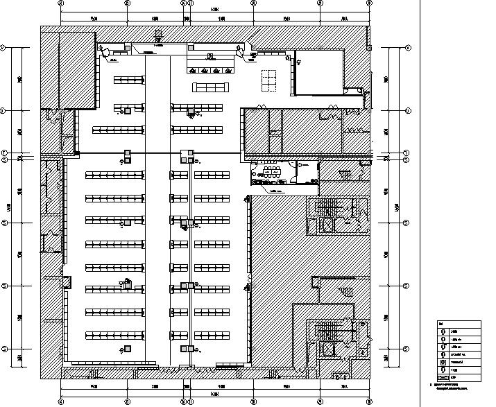 4套迪卡侬设计施工图(附效果图+设计手册)-插座布置图
