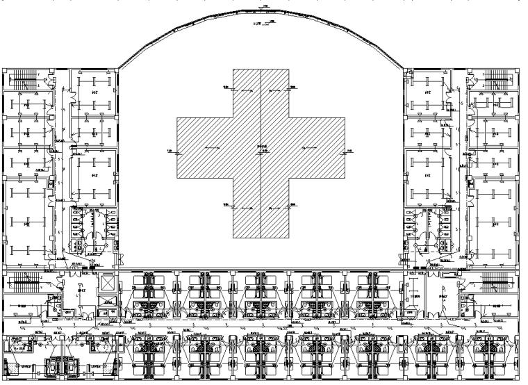 九层综合商业办公楼电气施工图纸