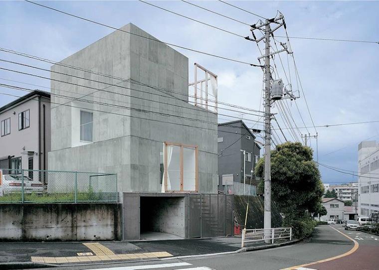 横滨立体庭院住宅