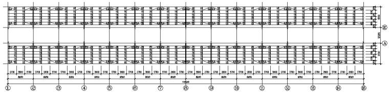成都门式刚架钢结构工程施工图(CAD,全套)_5