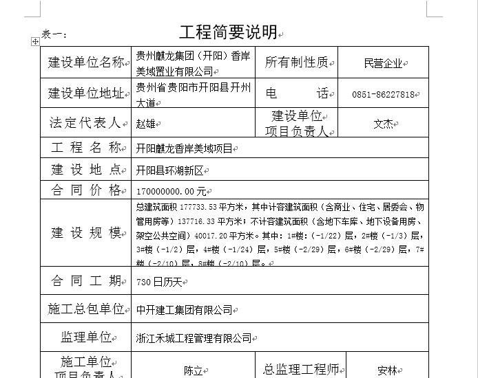 建筑工程施工许可申请表范本