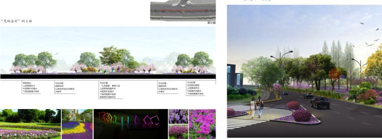 [湖北]中华一路道路景观规划设计(PDF+66页)-节点分析