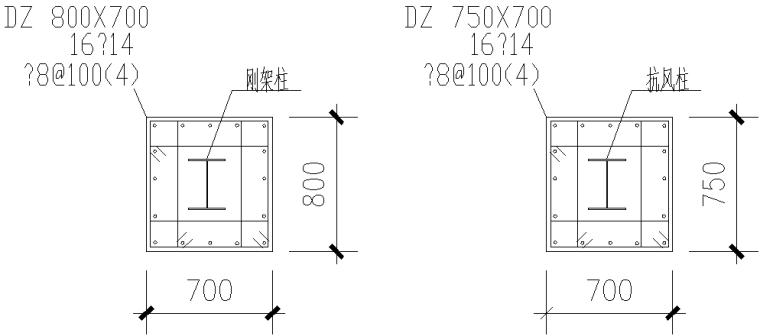 成都门式刚架钢结构工程施工图(CAD,全套)_2