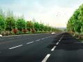 [安徽]淮南市街道景观绿化方案(现代,绿化)